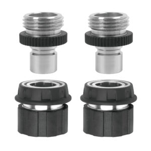 Silver product adapters and product end connectors with water stop